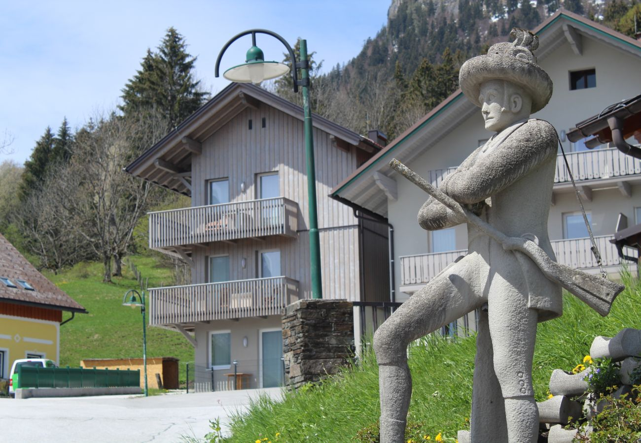 Exterior view of the holiday home Grimming Lodge Windroeschen in Tauplitz