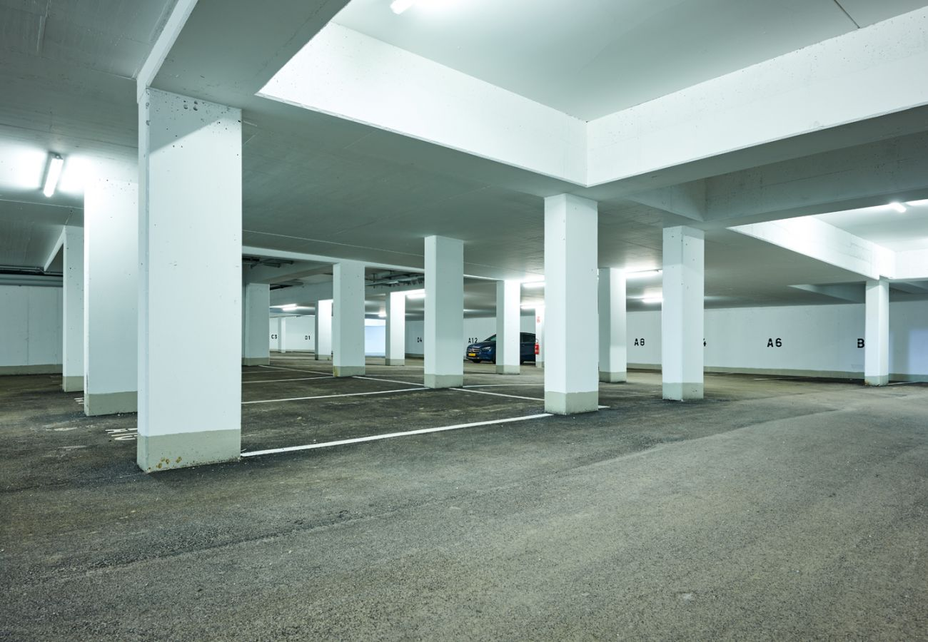 Underground parking with free parking for holiday flat Penthouse Grimming Adler Lodge D7.1 in Tauplitz