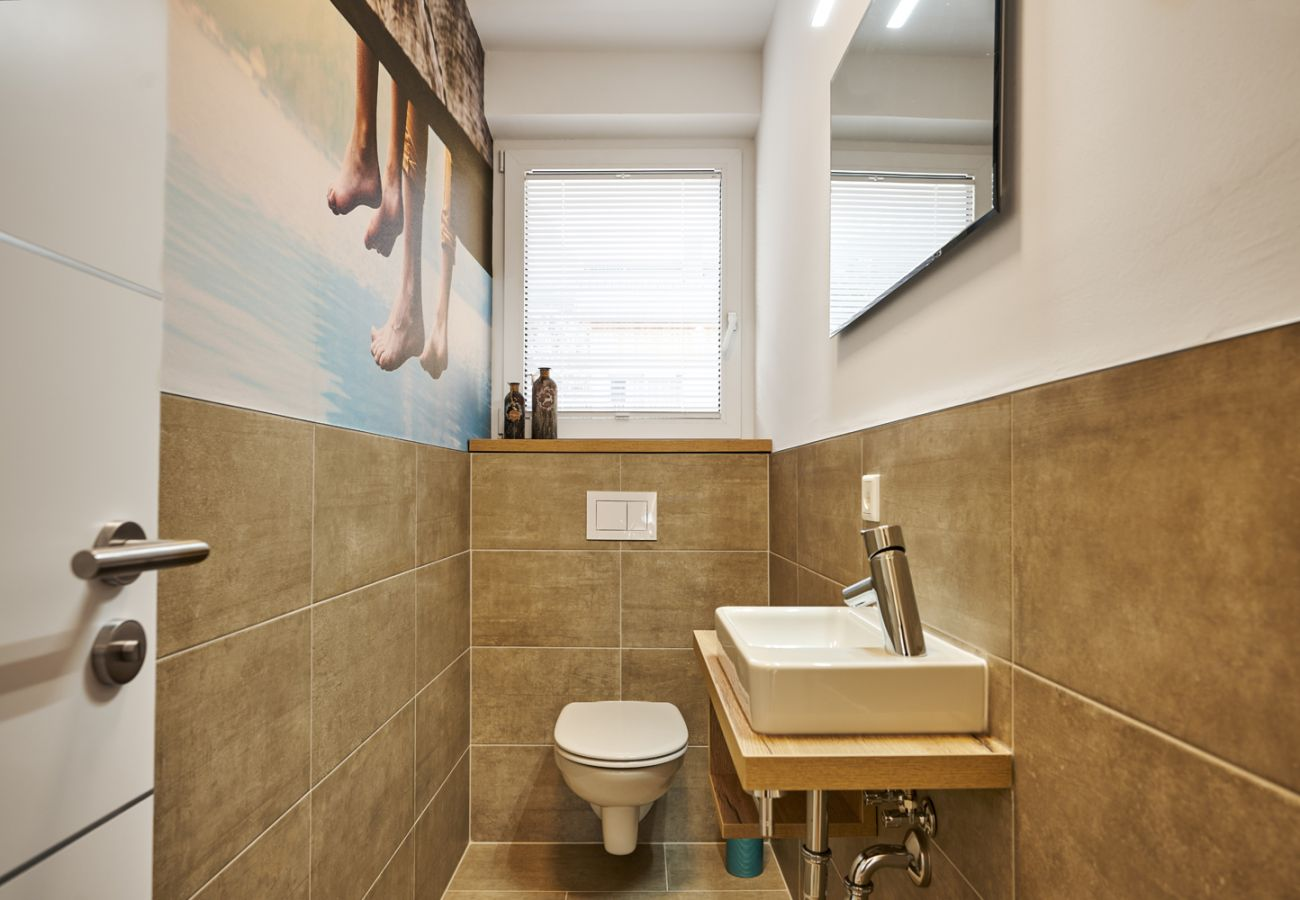 separate Toilet in the holiday home flat Adler Auszeit Lodge D6 in Tauplitz