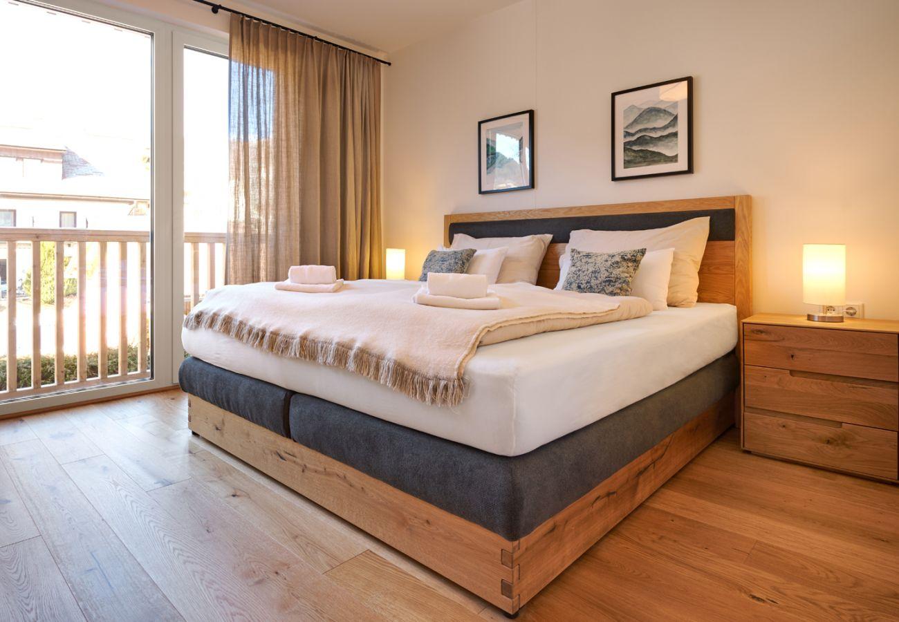 Schlafzimmer 1  in der Ferienwohnung Alm Lodge A5 in Tauplitz