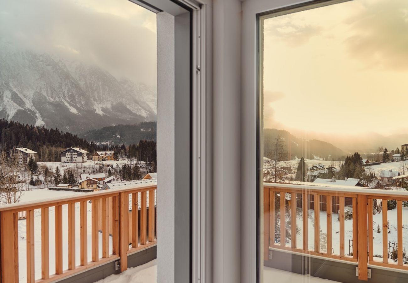Ferienwohnung in Tauplitz - Bergblick Lodge B6