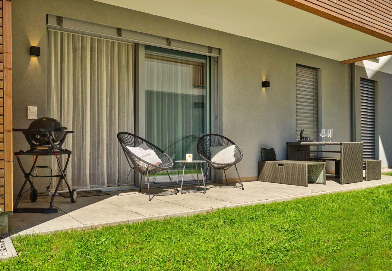 Ferienwohnung in Tauplitz - Bergblick Lodge B1