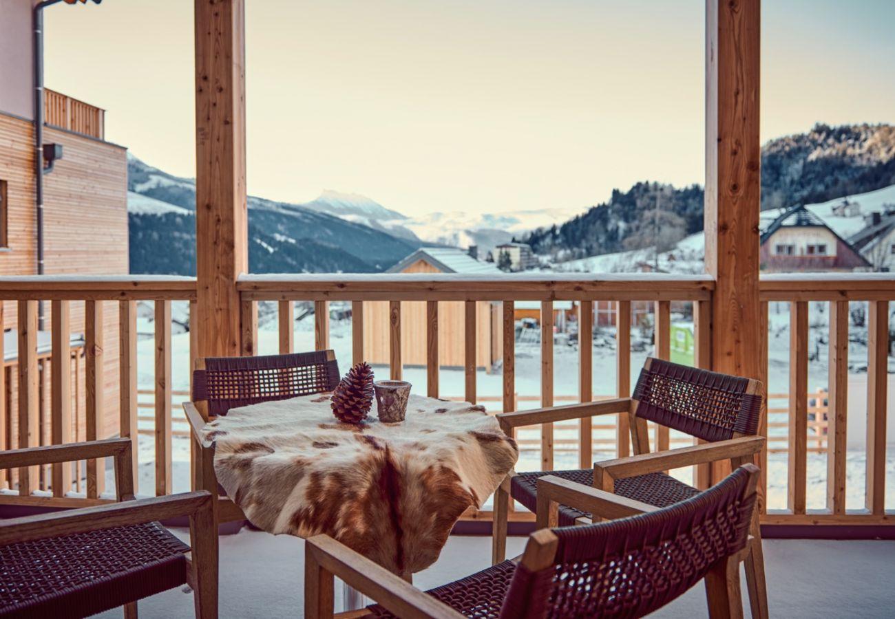 Ferienwohnung in Tauplitz - Wasserfall Lodge C4