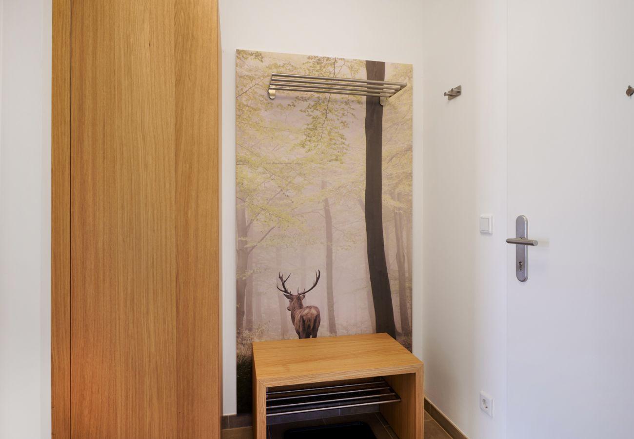 Garderobe in der Ferienwohnung Adler Lodge D1 in Tauplitz