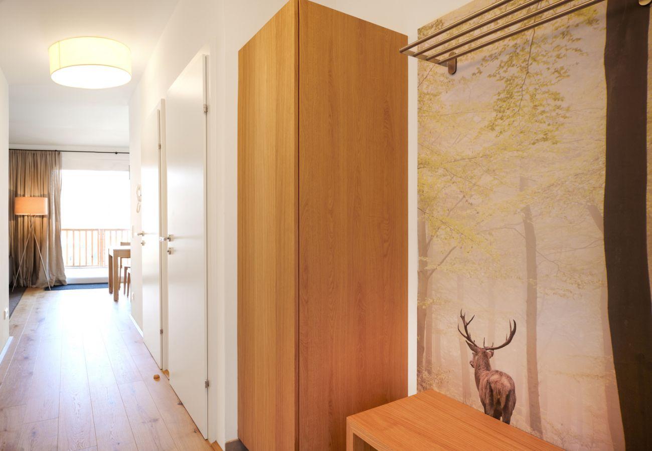 Eingangsbereich in der Ferienwohnung Adler lodge D1 in Tauplitz