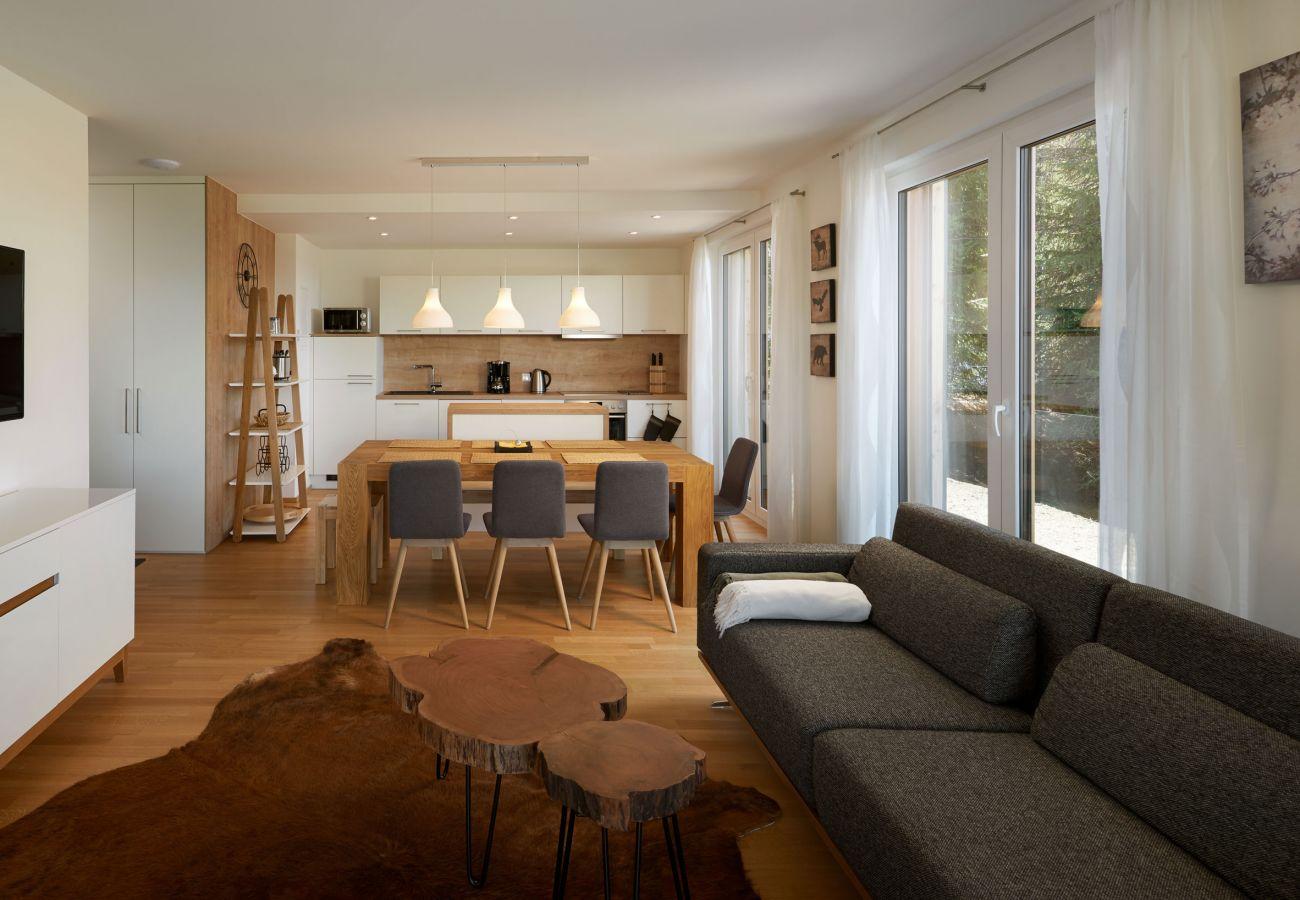 Küche in der Ferienwohnung Fastenberg Top 3 in der Schladming-Dachstein Region