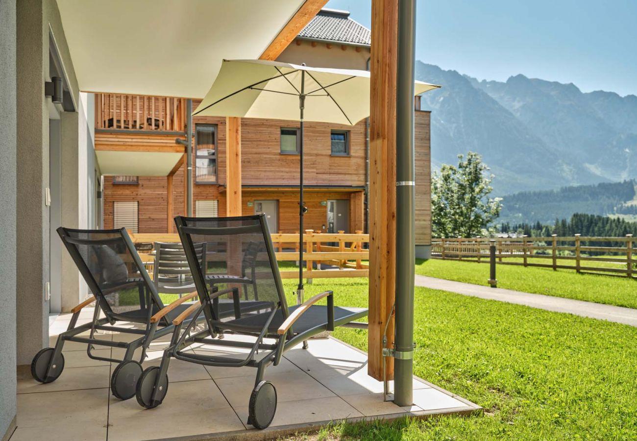 Ferienwohnung in Tauplitz - Wasserfall Lodge C1