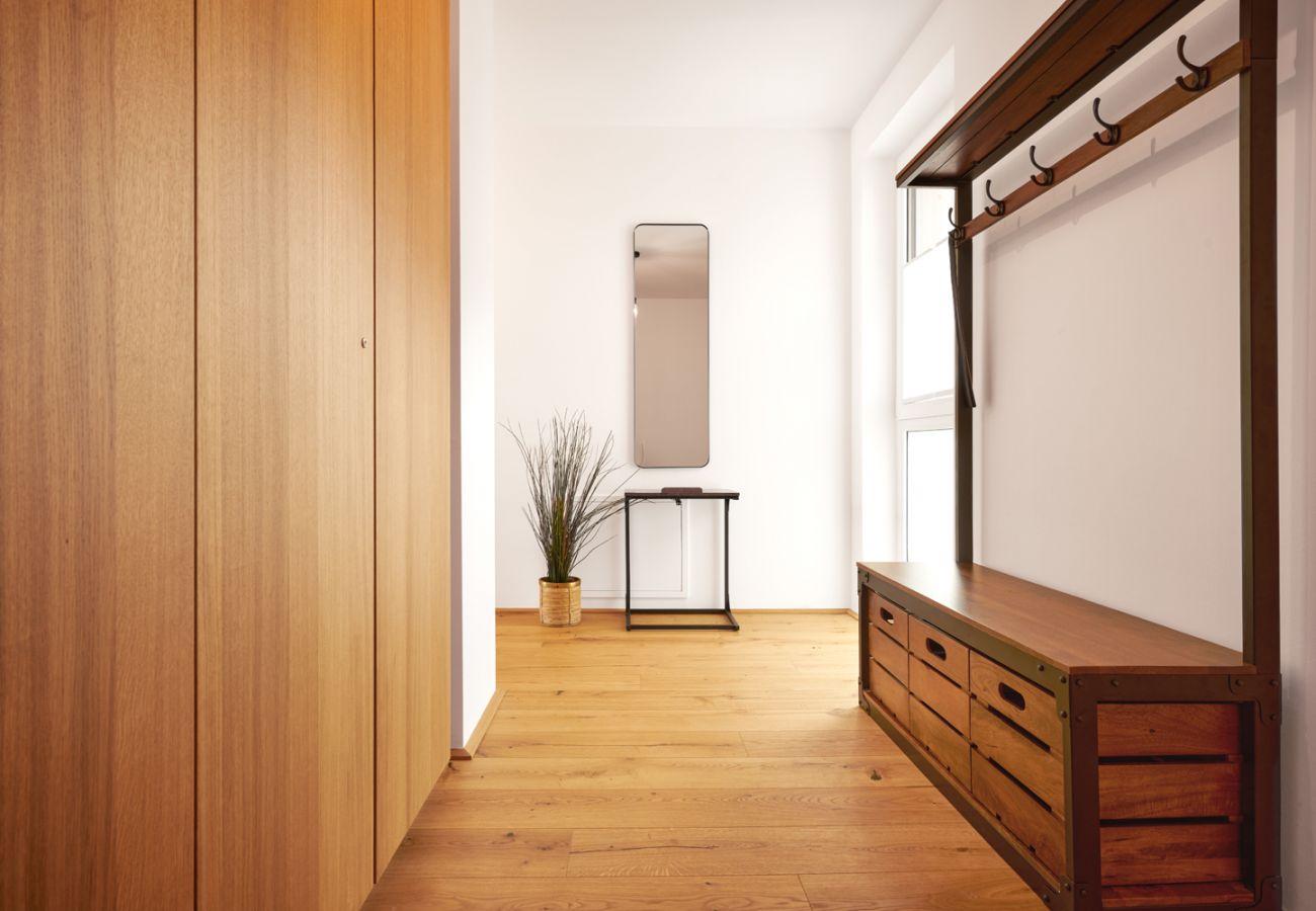 Garderobe in der Ferienwohnung Adler Lodge D5 in Tauplitz